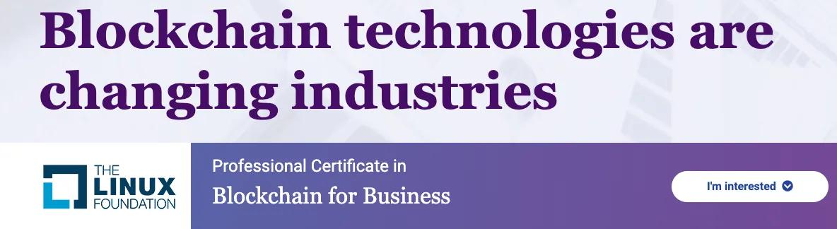 curso blockchain para empresas