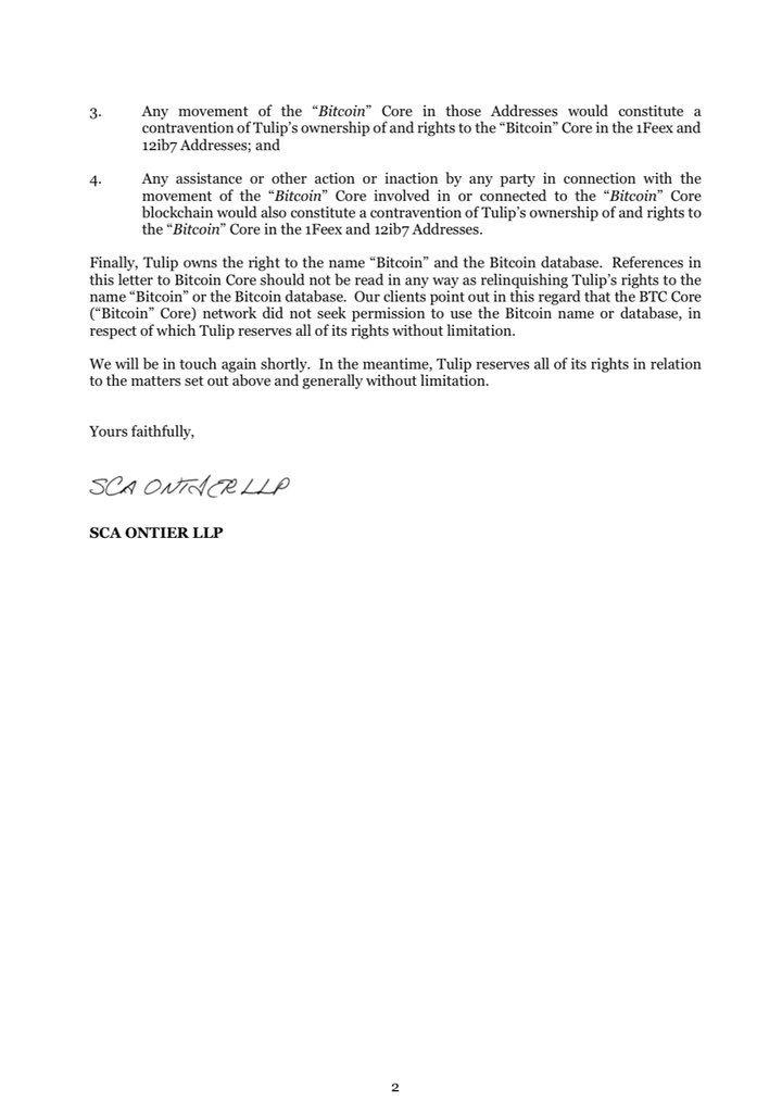 Petição dos Advogados de Wright