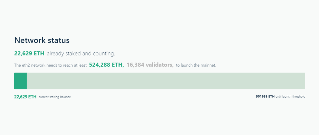 ethereum 2.0 staking